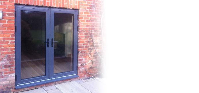 Aluminium French Doors  Windows Doors Conservatories in UPVC and Aluminium from CWG Choices