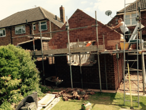C Whyman Building Services Cannock - Extension and Landscaping