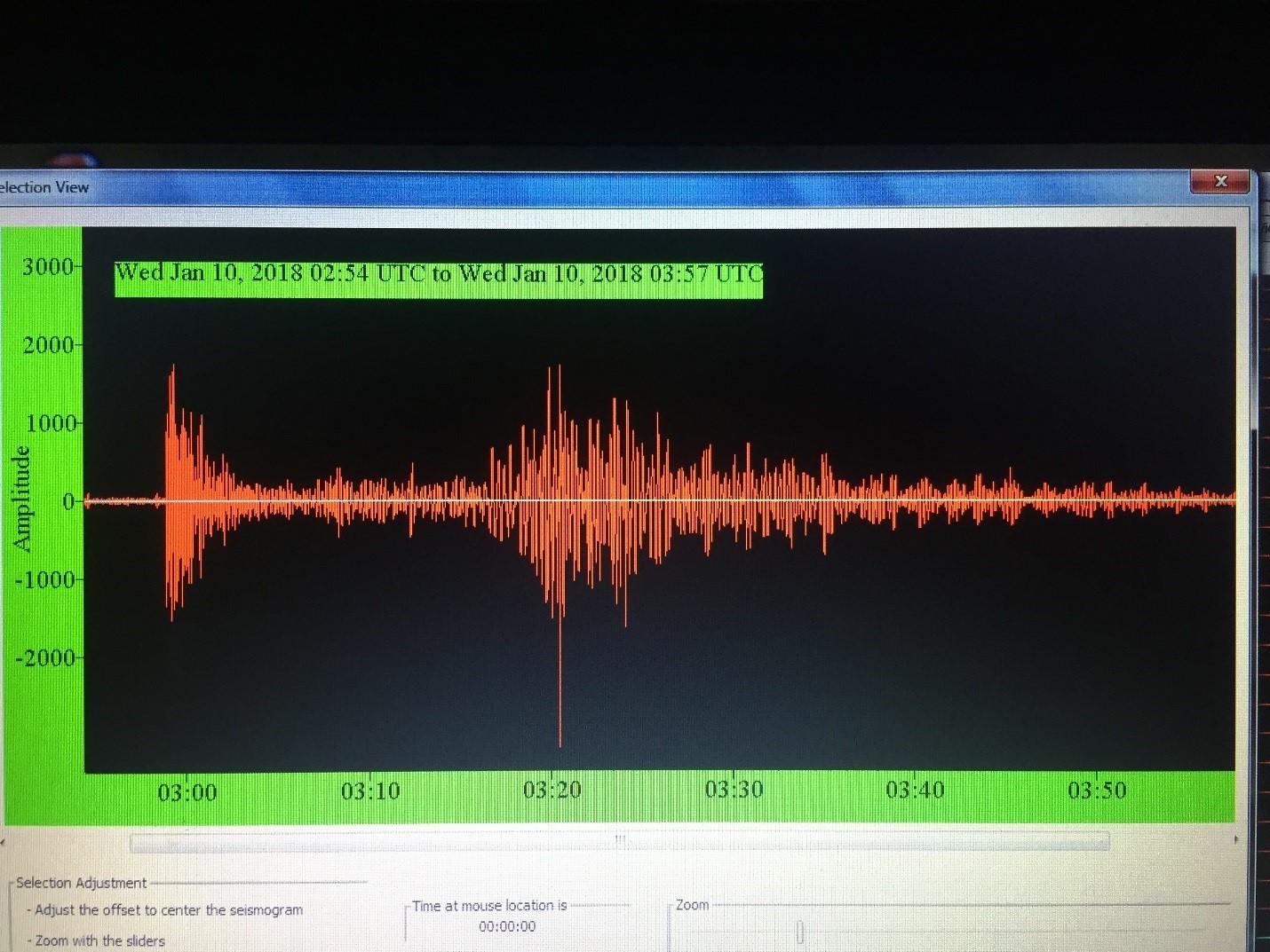 Seismic Waves Travel To Nampa