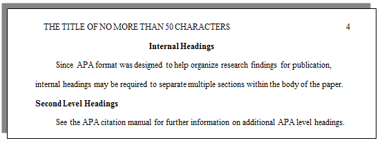 How Do I Set Up A Paper With APA Formatting? CWI