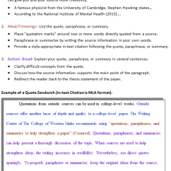 Essay Writing Sandwich Diagram Best Free Network Software 13 Example Of A Thesis Statement In An What Is Quote Cwi Sections And