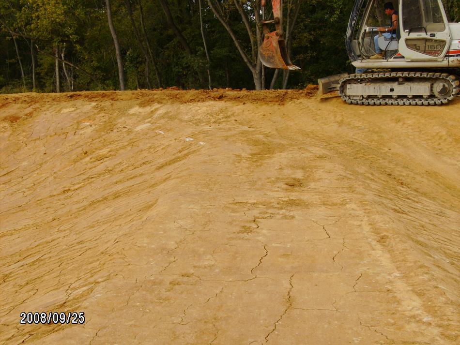 Pond Spillway Construction