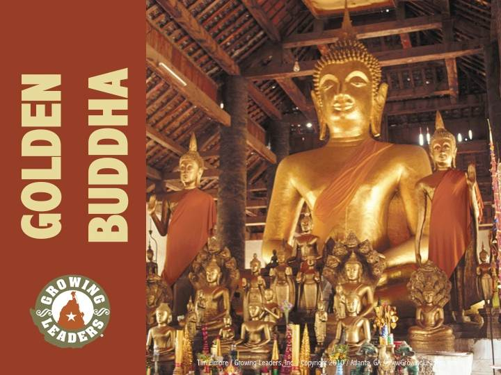 The Golden Buddha  Life of Exploration