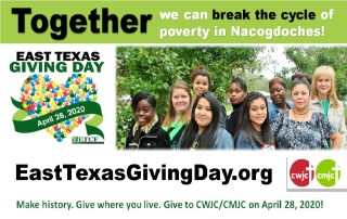 East Texas Giving Day, April 28, 2020