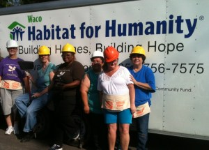 Alumni Help Build Habitat House