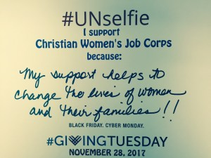 My support of Christian Women's Job Corps in Waco helps to change the lives of women and their families.