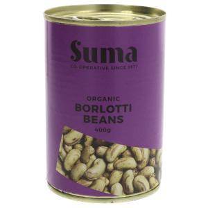Suma Organic Borlotti Beans