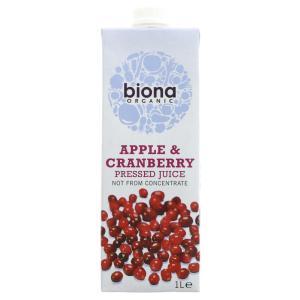 Biona Apple & Cranbry Juice Organic