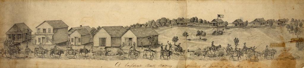 """Confederate Slaves"" at Bull Run"