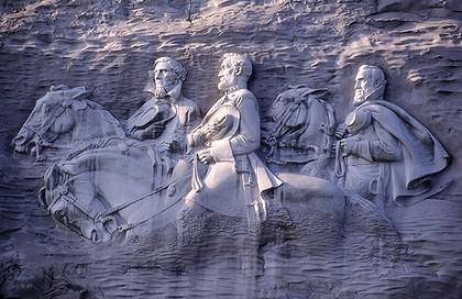 stone mountain georgia civil war memory