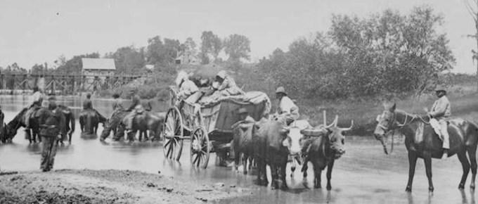Crossing the Rappahannock