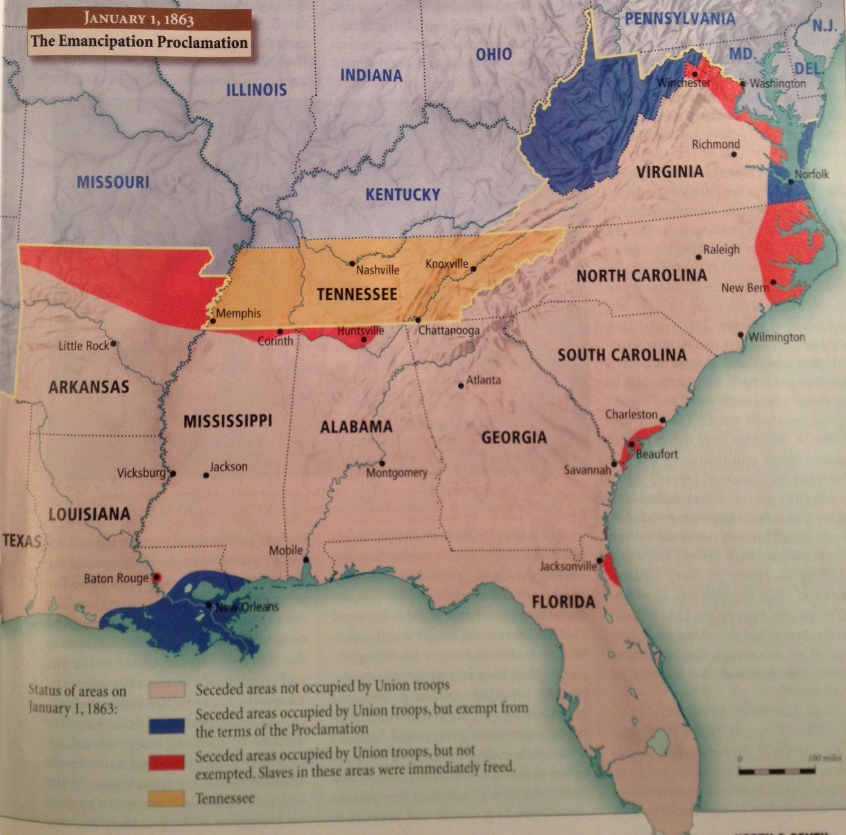 where slaves were immediately d by the emancipation in response to my last post al mackey referenced a north and south magazine article from back in 2001 by william harris on the emancipation proclamation
