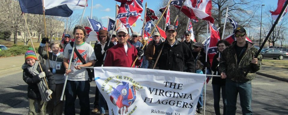 Virginia Flaggers Bring Heritage of Hate to Lexington