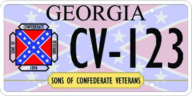 Georgia Vanity Plate