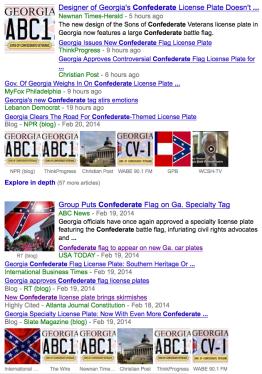 Georgia State Flag News Feed