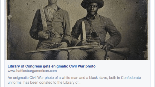 Virginia Flaggers Interpret Image of Silas and Andrew Chandler