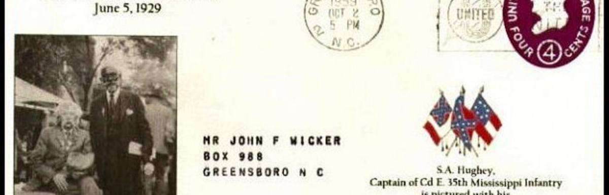U.S. Postal Service Spreads Myth of Loyal Slave