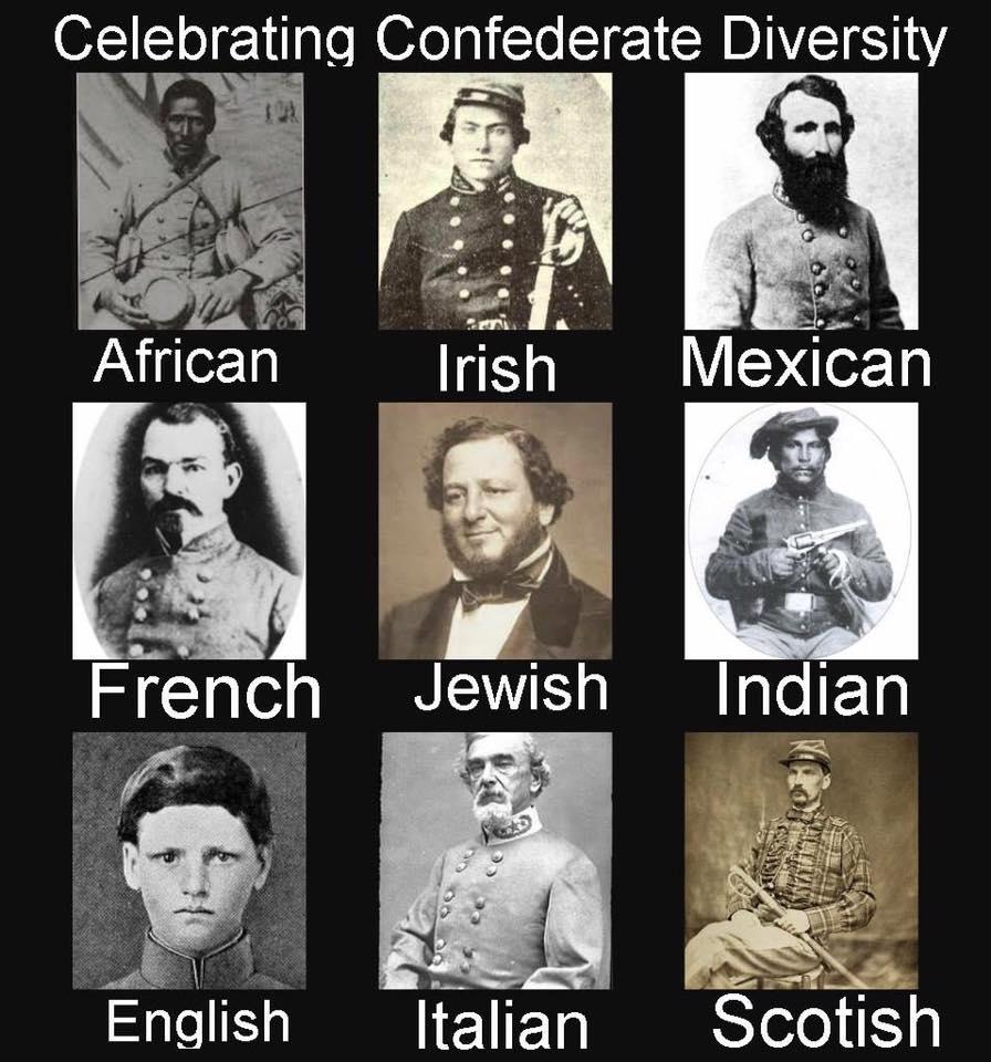 The Confederate Melting Pot