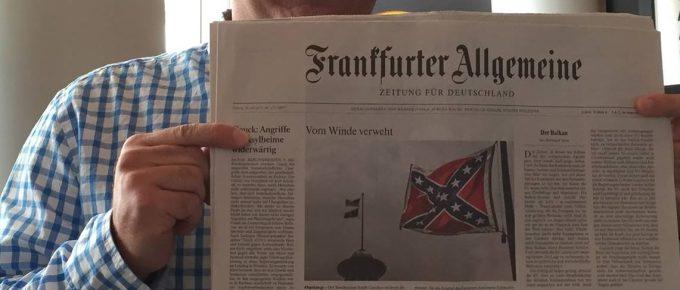 No More Questions For Confederate Flag Wavers