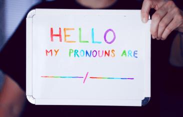 pronouns ally LGBTQ