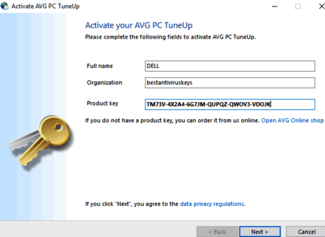 AVG PC TuneUp 2019 Crack with Product Key Free Download {Lifetime}