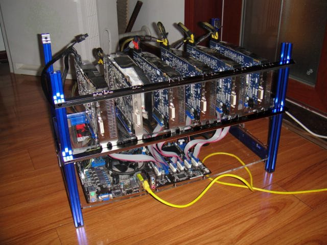 Motherboard Made Specifically For Bitcoin Mining By Asrock
