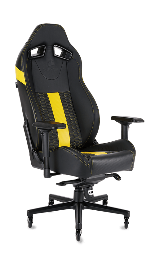 CORSAIR GAMING CHAIRS INSPIRED BY RACING BUILT TO GAME