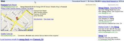 Adwords LocalPlus Box