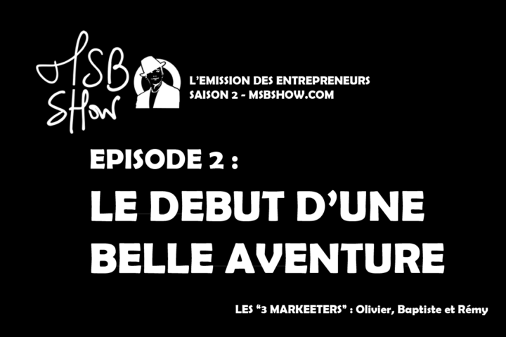 ▷ [MSB show] We will reveal the name of the startup and the team that supports me! 2020