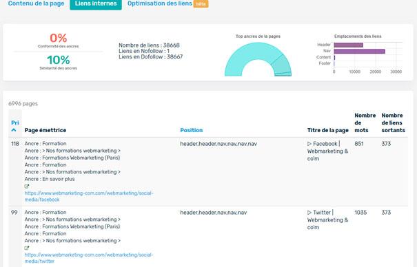 audit seo typology links