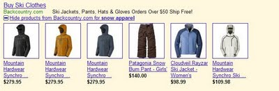 adwords products