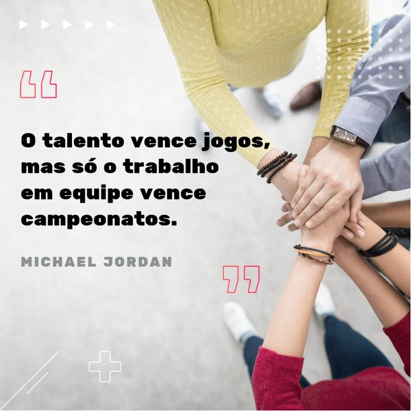 motivational phrases: Talent wins games, but only teamwork wins championships