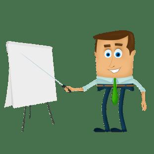 your conversational vs your description - create a business blog