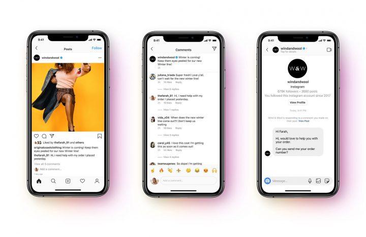the Messenger API arrives on Instagram messages  2020