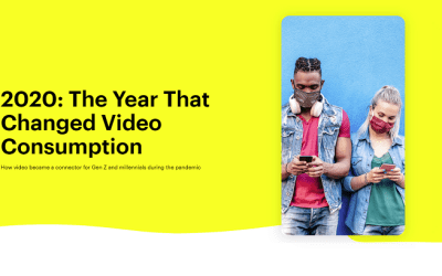 ▷ [Infographie] Snapchat video engagement levels 2021