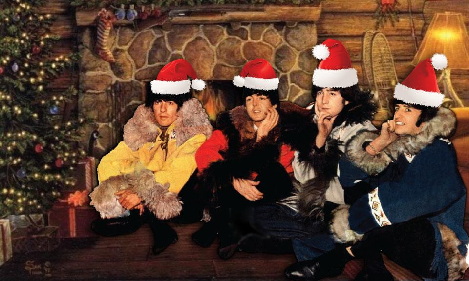 Beatles Christmas Card Corey Van Zandt