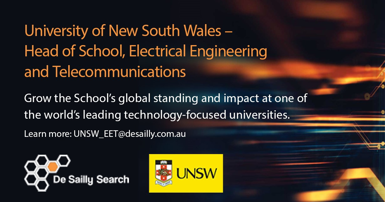 Unsw Cover Letter Head Of School Electrical Engineering Telecommunications Unsw