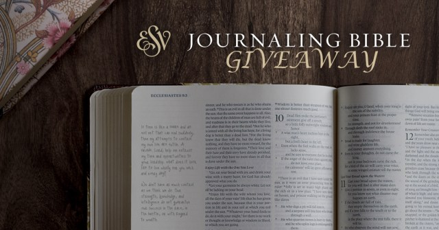 Journaling Bible Giveaway