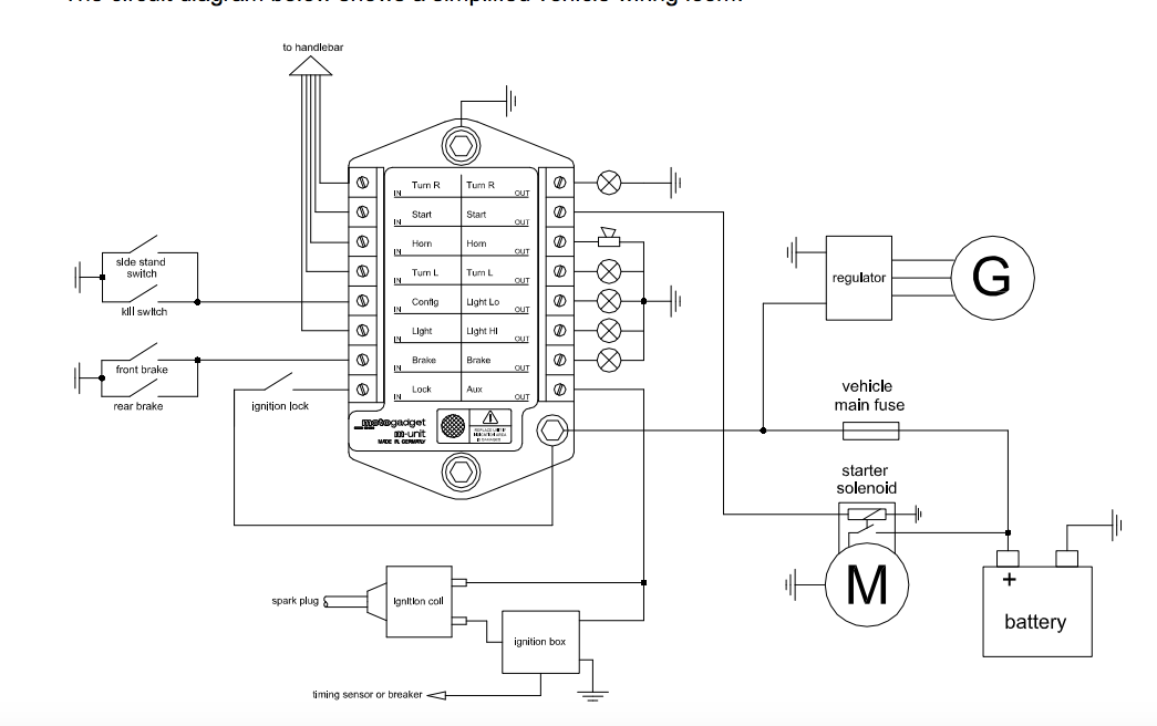 wiring diagram aux cable
