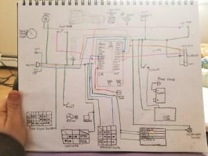 M unit blue cx500 wiring diagram help