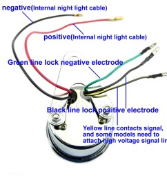 tach gauge wiring diagram wiring diagram centre [ 1001 x 1001 Pixel ]