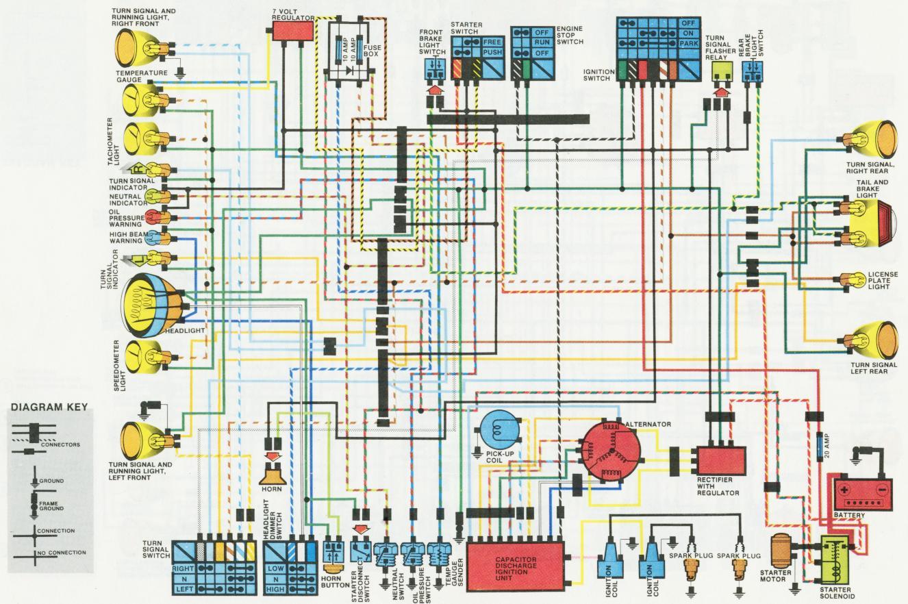 1978 Honda Cb550 Wiring Diagram Ignitech Dc Cdi P2 Install