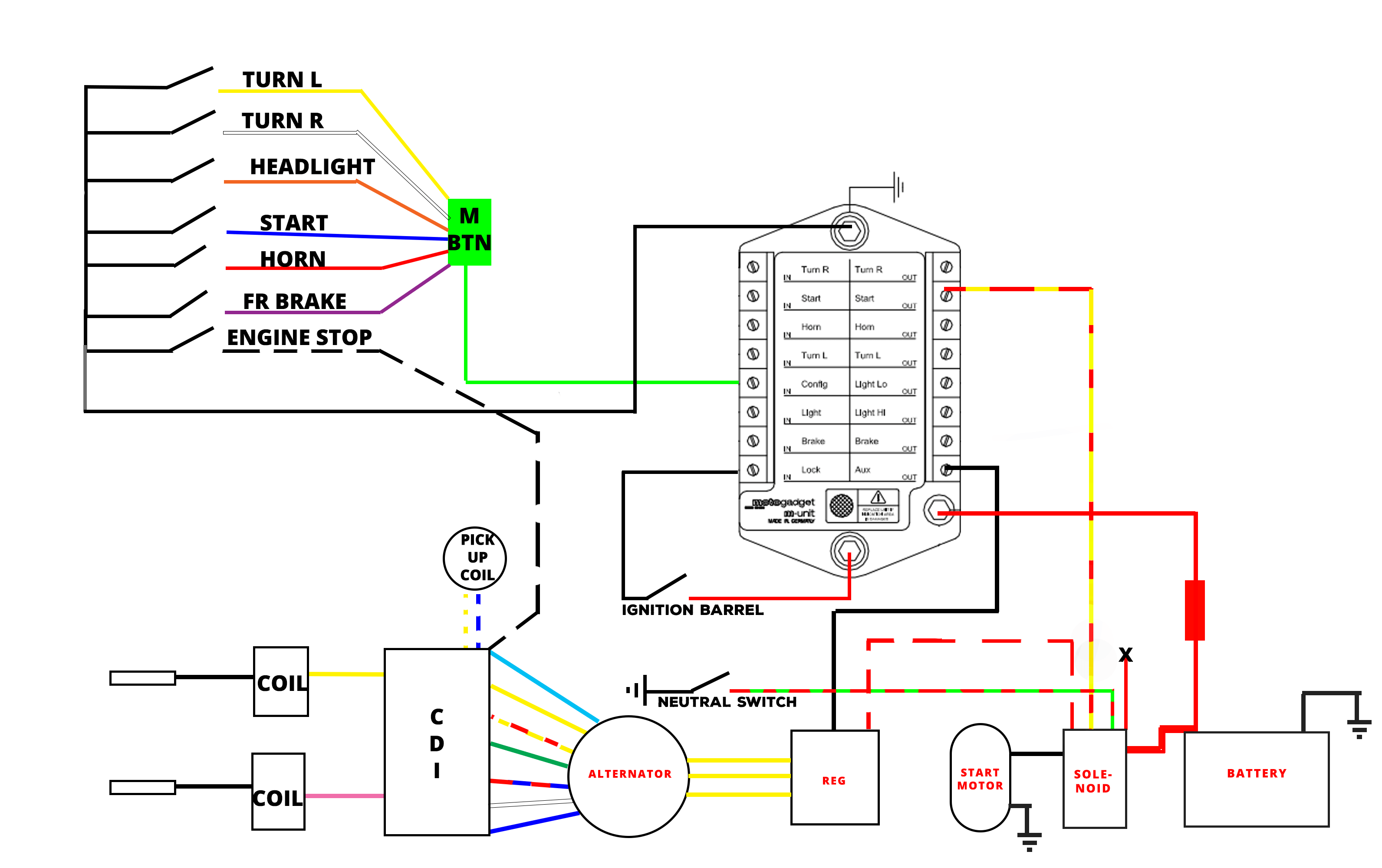 Discharge Ignition Circuit Also Ignition Switch Wiring Diagram