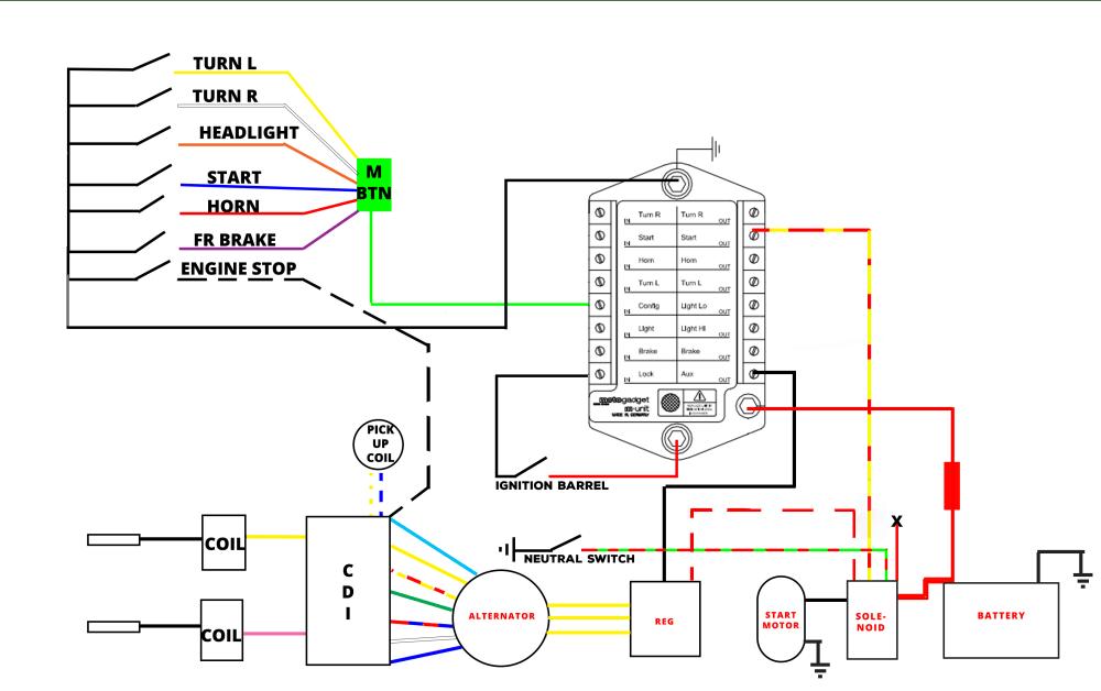 medium resolution of new racing cdi wiring colors manual e books1e40qmb new racing cdi wiring diagram manual e books
