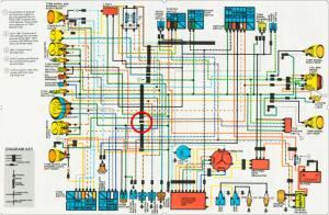 CX500 wiring diagram help
