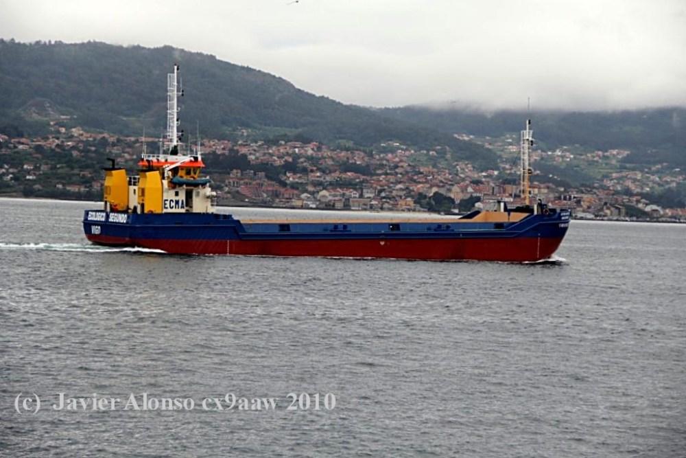 """Draga gánguil """"ECOLÓGICO SEGUNDO""""  Dragas y Buques de Trabajos Portuarios (1/2)"""