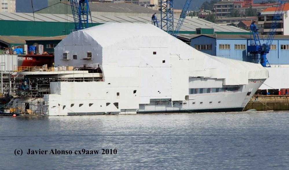 """""""PEGASO"""" buque privado de investigación marina oceanográfico (1/3)"""