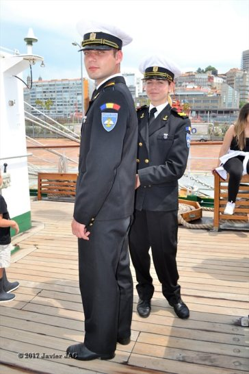 El Velero Rumano Mircea es un velero del tipo barca de tres mástile (1)
