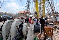 El Velero Rumano Mircea es un velero del tipo barca de tres mástile (11)
