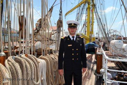 El Velero Rumano Mircea es un velero del tipo barca de tres mástile (39)
